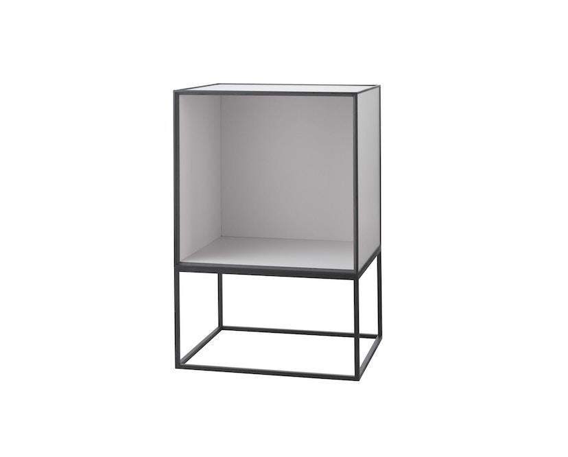 by Lassen - Frame 35 Beistelltisch ohne Türe - hellgrau - 1