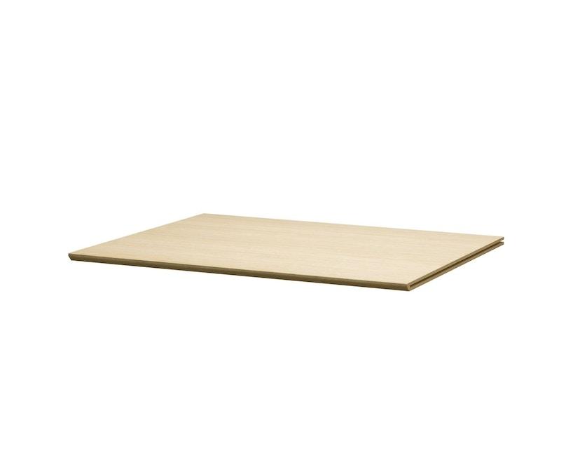 by Lassen - Tablette d'étagère pour module d'armoire Frame - Chêne - Longueur 35 cm - 1