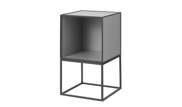 by Lassen - Frame 35 Beistelltisch ohne Türe - dunkelgrau - 1