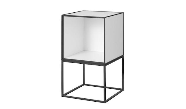 by Lassen - Frame 35 Beistelltisch ohne Türe - weiß - 1