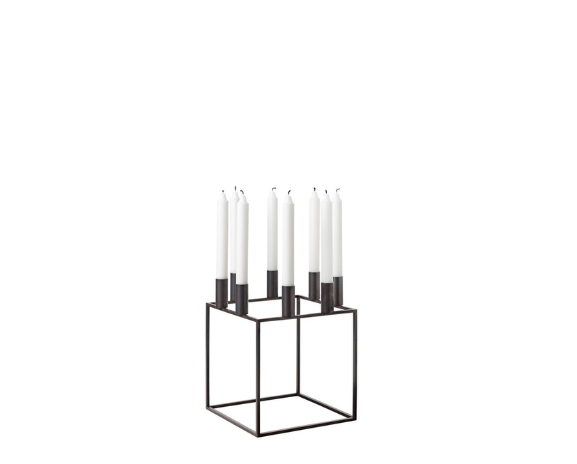 by Lassen - Kubus 8 Kerzenhalter - kupfer brüniert - 3