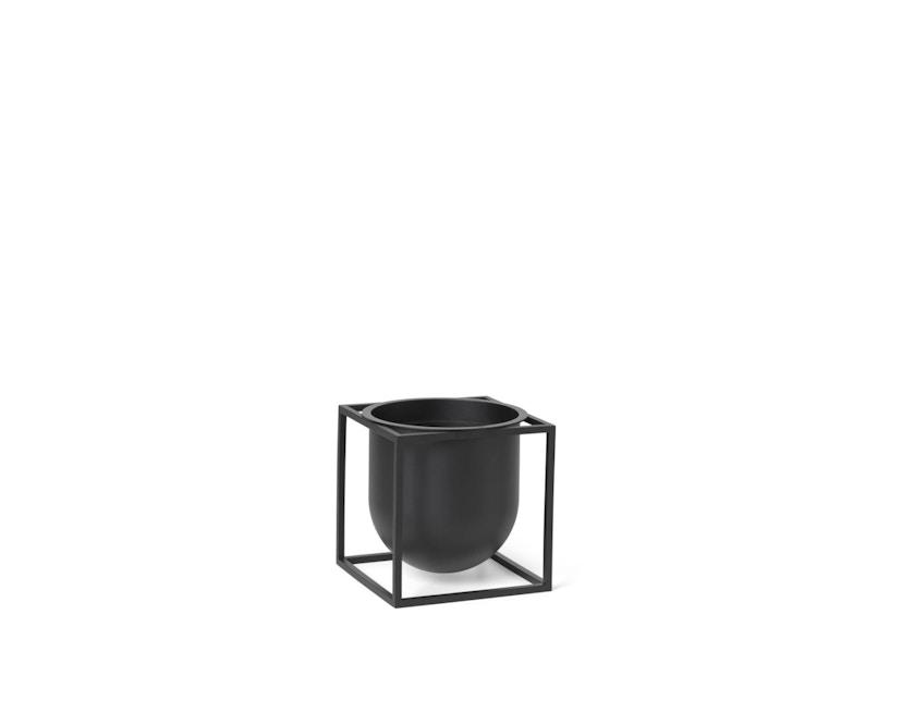 by Lassen - Pot de fleurs Kubus  - 14 cm - noir - 1