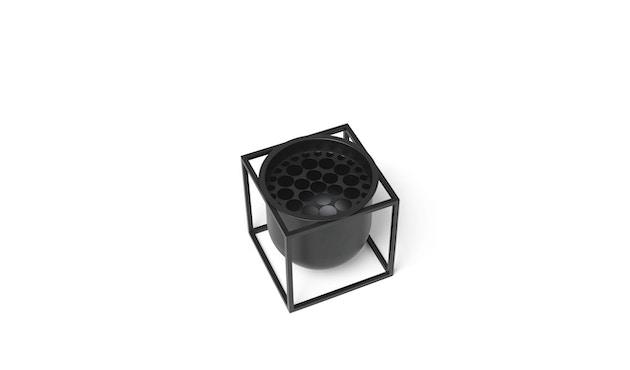 by Lassen - Pot de fleurs Kubus  - 14 cm - noir - 2