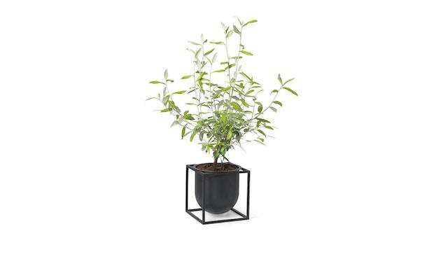 by Lassen - Pot de fleurs Kubus  - 14 cm - noir - 3