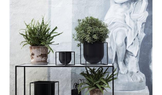 by Lassen - Pot de fleurs Kubus  - 14 cm - noir - 4