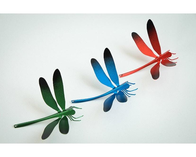 Ingo Maurer - I Ricchi Poveri Bzzzz - Libelle blau - 2