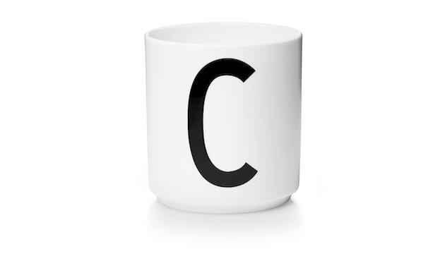 DESIGN LETTERS - Personal Porzellanbecher - weiß - C - 1