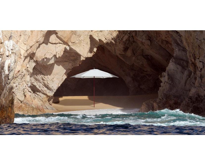 Tuuci - Vineyard fiberflex Sonnenschirm  - natural - 2,25 m quadratisch - 3