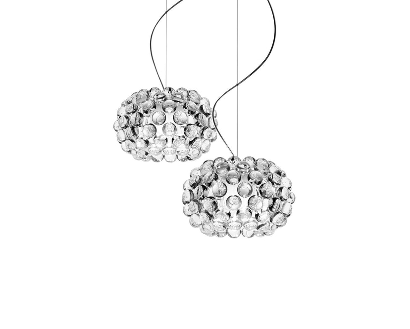 Foscarini - Caboche hanglamp - transparant - piccola Ø 31 x 20 cm - 1