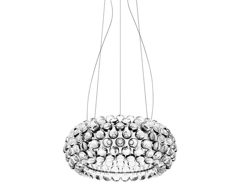 Foscarini - Caboche hanglamp led - transparant - media Ø 50 x 20 cm - Led niet dimbaar - 2