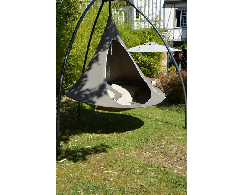 Cacoon - Double Hängesessel - Taupe - 5