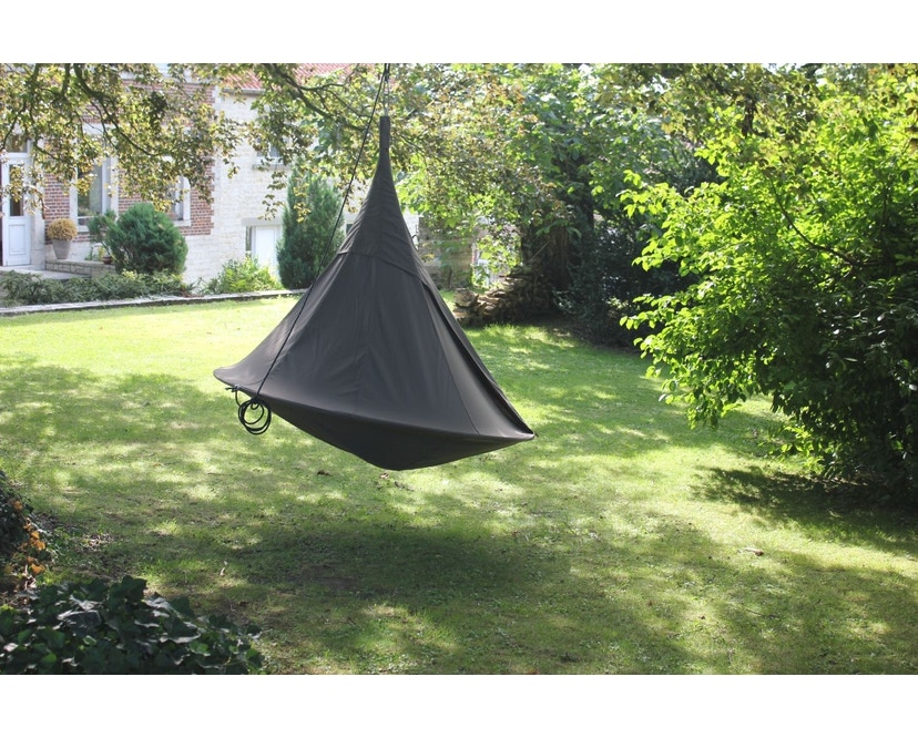 Cacoon - Double Hängesessel - Taupe - 3
