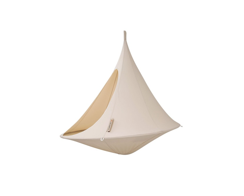 Cacoon - Double Hängesessel - Natural White - 1