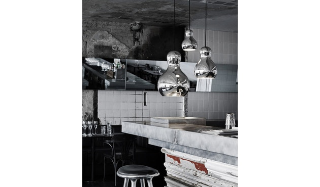 Fritz Hansen - Calabash hanglamp - P1=S - zilver - Kabellengte 3m - 6
