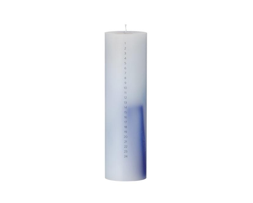 ferm LIVING - Calendar Kerze - blue - 1