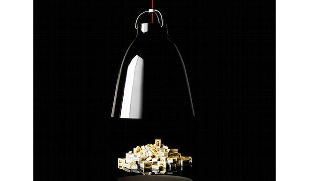 Fritz Hansen - Caravaggio hanglamp - Kabellengte 3m - P1=S - zwart - 5