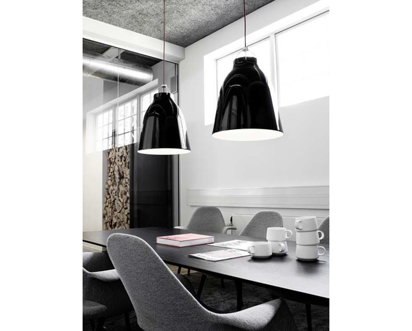 Fritz Hansen - Caravaggio hanglamp - Kabellengte 3m - P1=S - zwart - 6