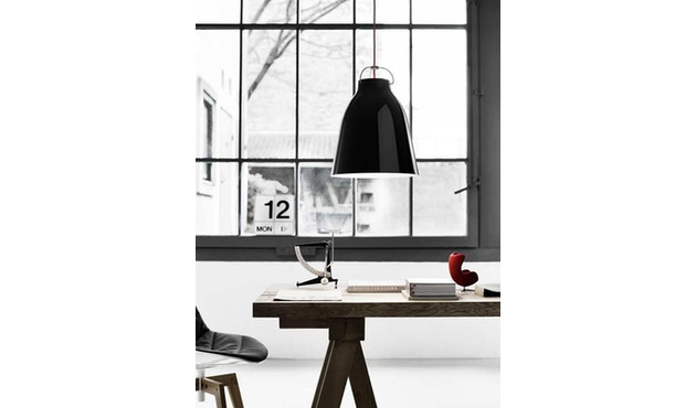 Fritz Hansen - Caravaggio hanglamp - Kabellengte 3m - P1=S - zwart - 7