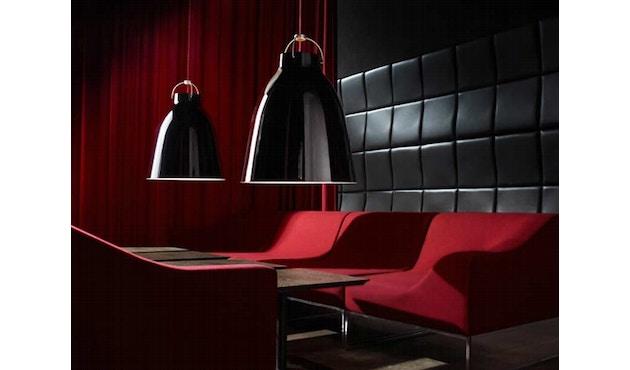 Fritz Hansen - Caravaggio hanglamp - Kabellengte 3m - P1=S - zwart - 9