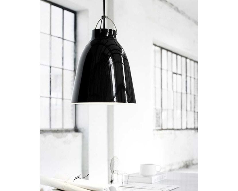 Fritz Hansen - Caravaggio BlackBlack Hängeleuchte - P0 - 8