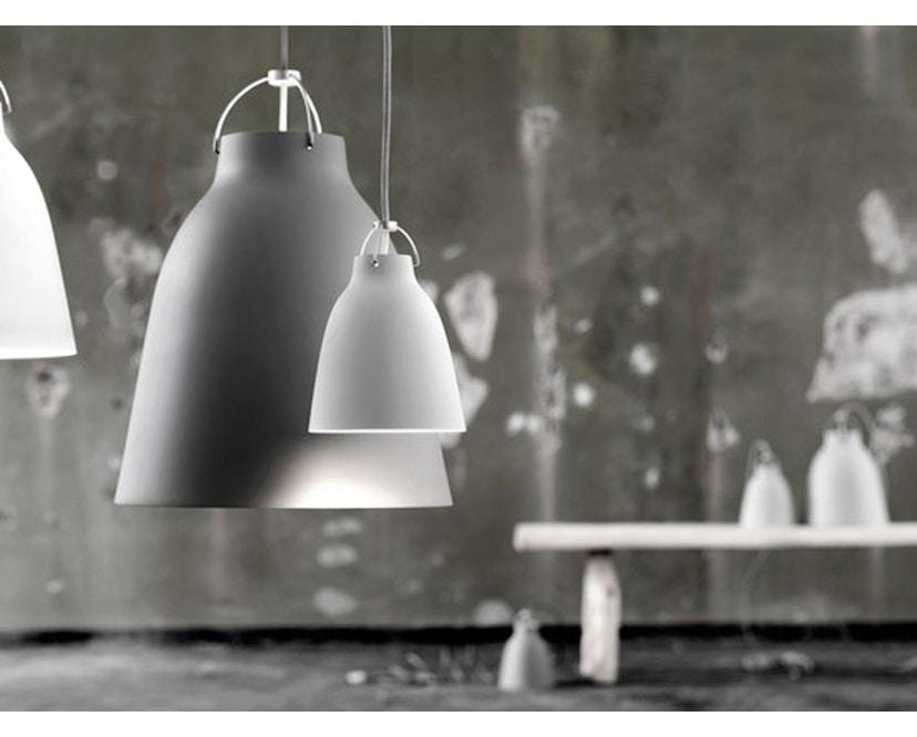 Fritz Hansen - Caravaggio Matt Hängeleuchte - P1 - schwarz - Kabellänge 3m - 4