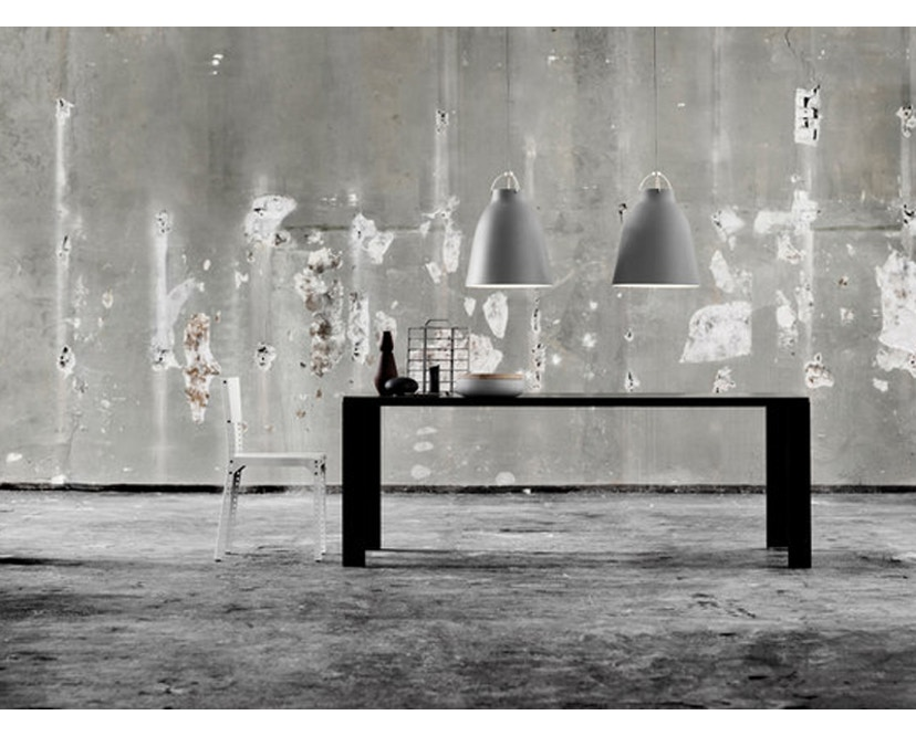 Fritz Hansen - Caravaggio Matt Hängeleuchte - P1 - grau25 - Kabellänge 3m - 7