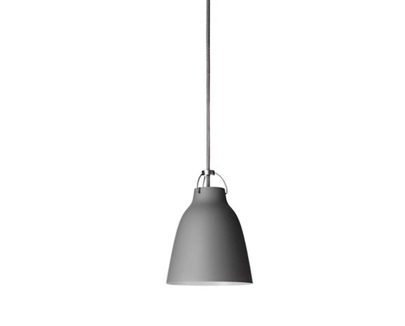 Fritz Hansen - Suspension Caravaggio Matt - Longueur du câble 3 m - P1=S - gris foncé - 2