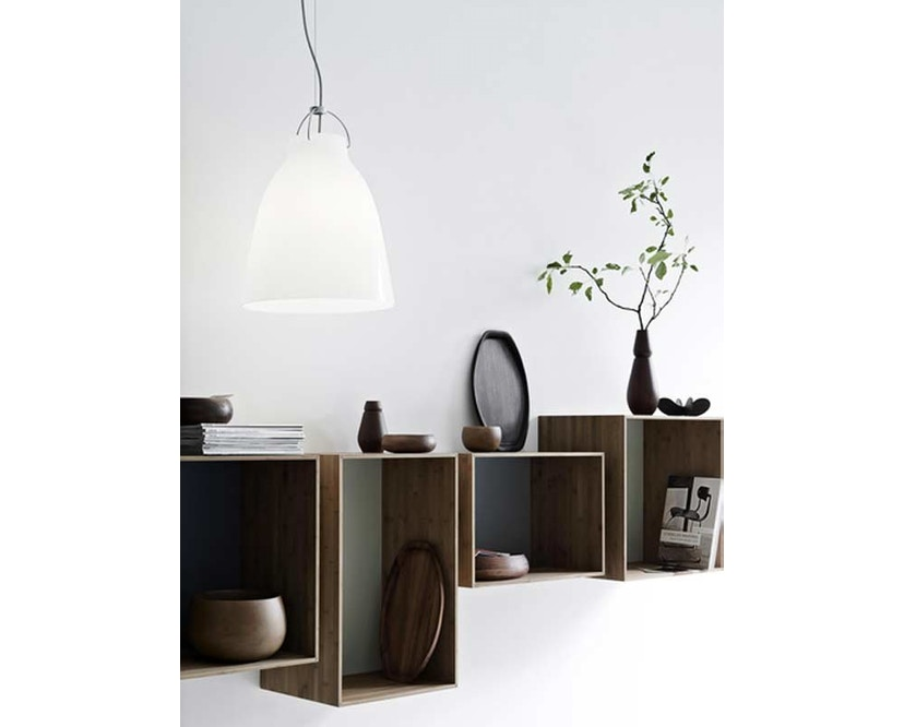 Fritz Hansen - Caravaggio hanglamp - Kabellengte 3m - P1=S - zwart - 14
