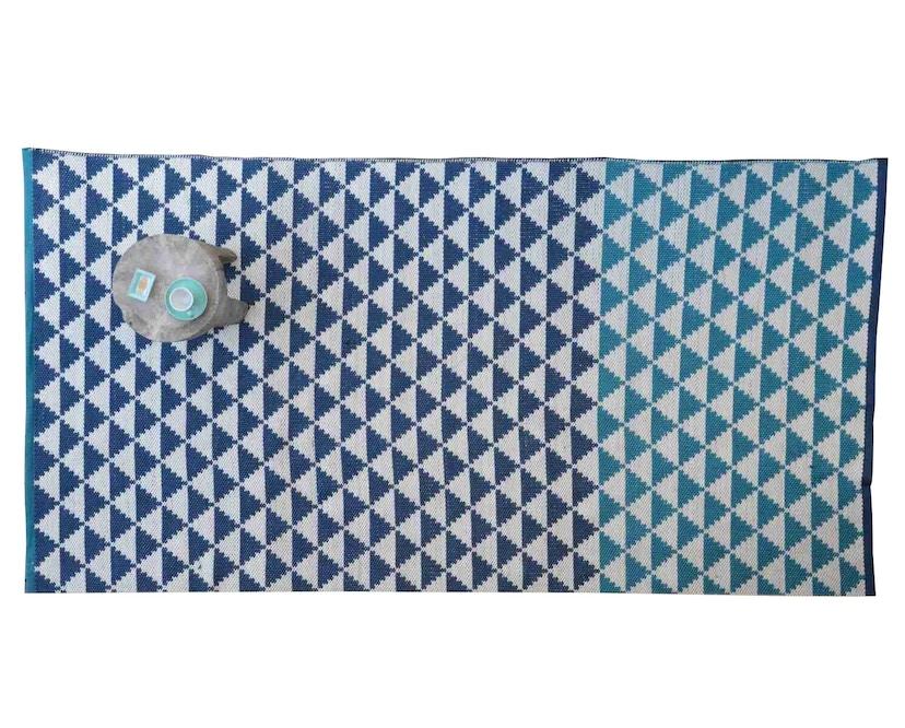 Jan Kurtz - Carpet  Outdoor Teppich - 150 x 90 cm - biscayne cobalt - 1