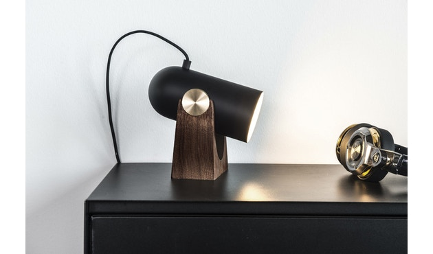 Le Klint - Carronade Tisch/Wandleuchte - schwarz - 3