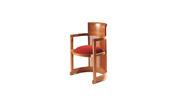 Cassina - 606 Barrel Stuhl - natur - 1
