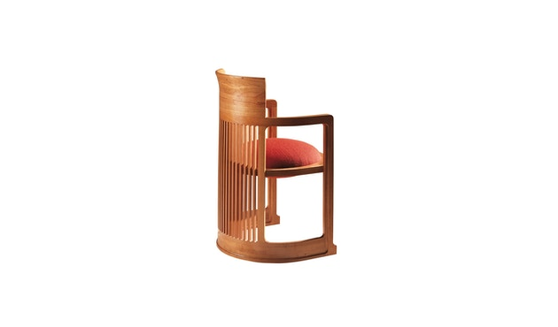 Cassina - 606 Barrel Stuhl - natur - 2