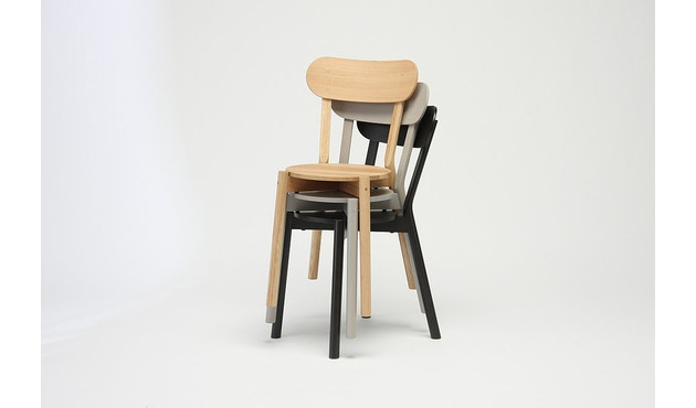 Karimoku New Standard - Castor Stuhl - Eiche schwarz - 9