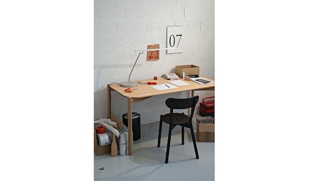 Karimoku New Standard - Castor Stuhl - Eiche schwarz - 10