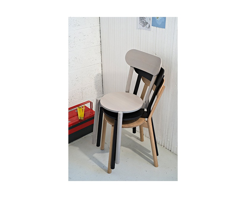 Karimoku New Standard - Castor Stuhl - Eiche schwarz - 11
