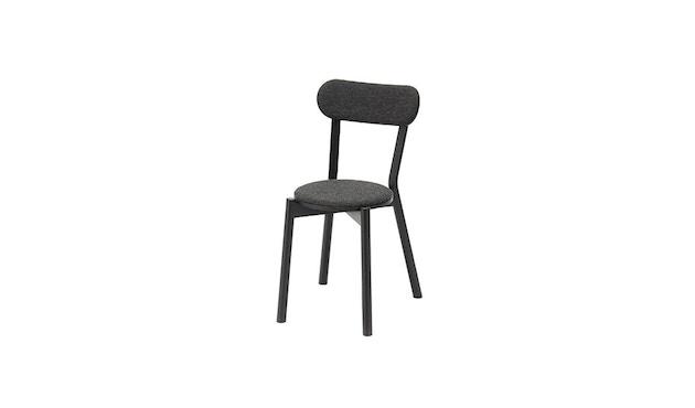 Karimoku New Standard - Castor Stuhl gepolstert - Eiche schwarz - 2