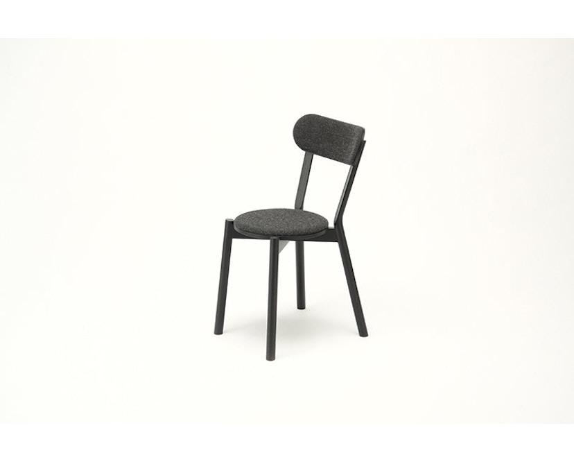 Karimoku New Standard - Castor Stuhl gepolstert - Eiche schwarz - 5