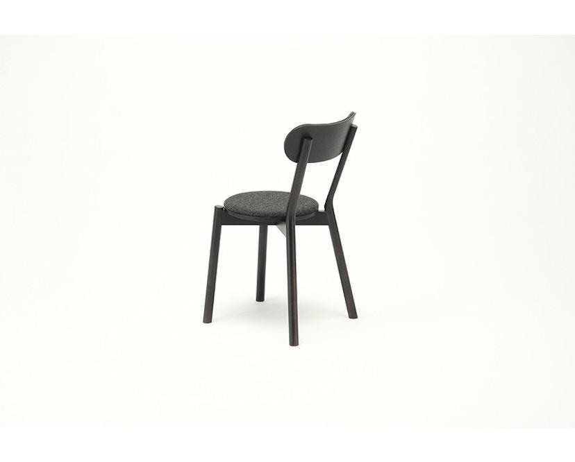Karimoku New Standard - Castor Stuhl gepolstert - Eiche schwarz - 7