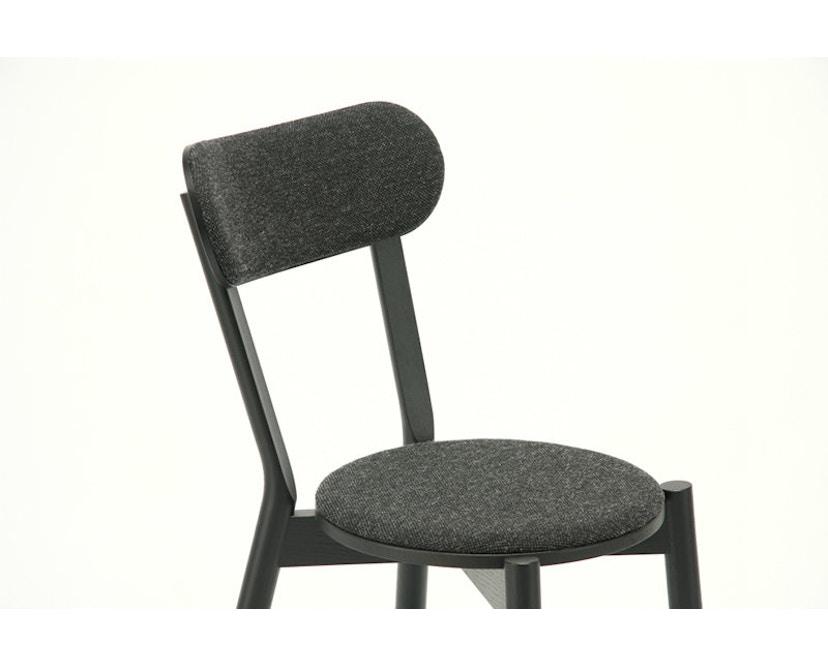 Karimoku New Standard - Castor Stuhl gepolstert - Eiche schwarz - 8