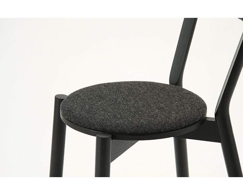 Karimoku New Standard - Castor Stuhl gepolstert - Eiche schwarz - 9
