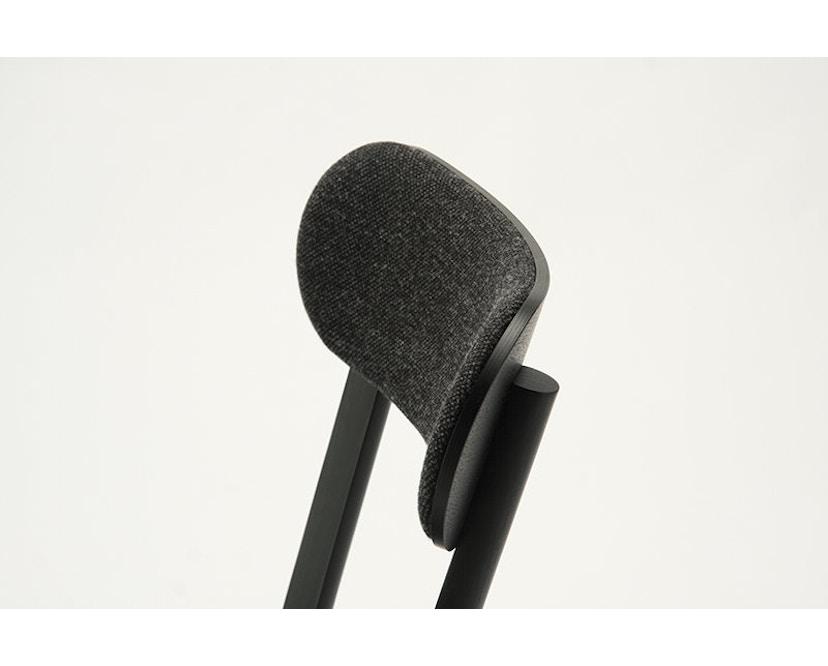 Karimoku New Standard - Castor Stuhl gepolstert - Eiche schwarz - 10