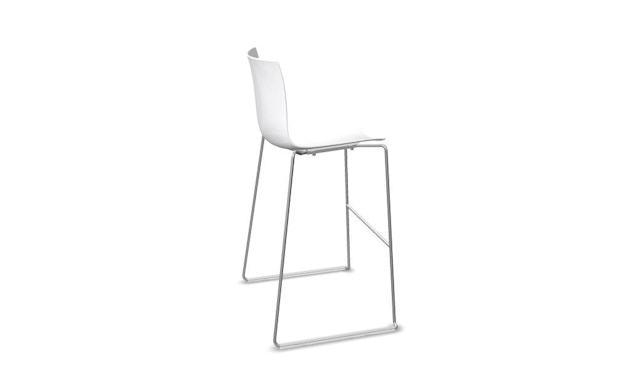 Arper - Catifa 46 Barhocker - weiß - Sitzhöhe 64 cm - 0