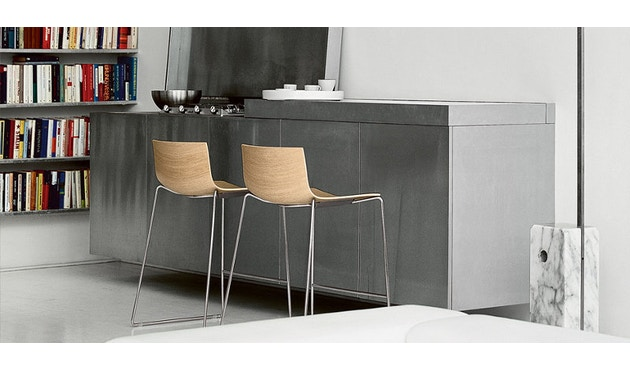 Arper - Catifa 46 Barhocker - weiß - Sitzhöhe 76 cm - 1