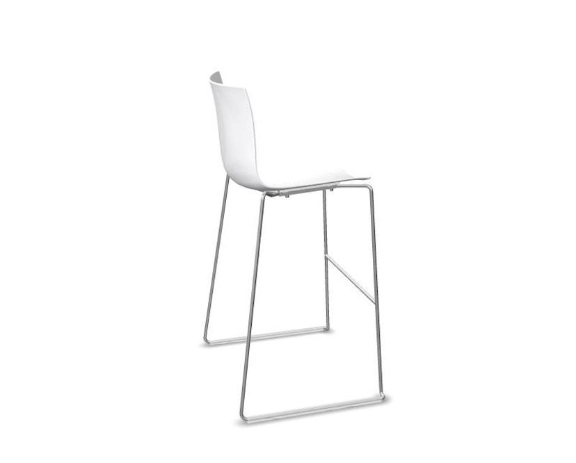 Arper - Catifa 46 Barhocker - weiß - Sitzhöhe 76 cm - 0