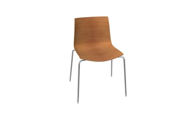 Arper - Catifa 46 Chaise bois 0351 - Chêne nature - 0