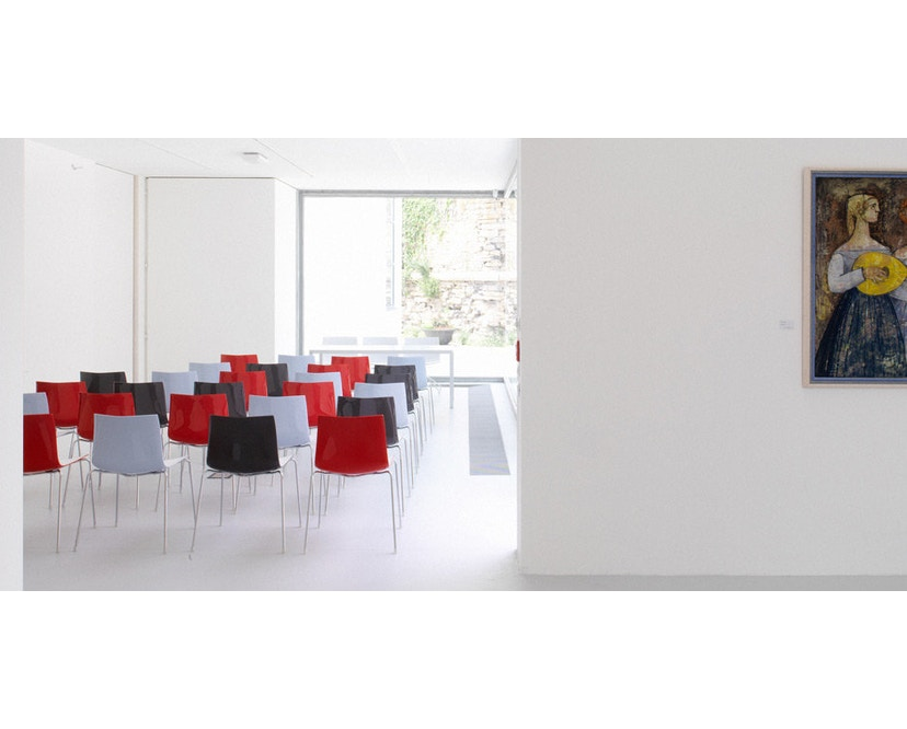 Arper - Catifa 46 Stuhl - einfarbig 0251 - 2