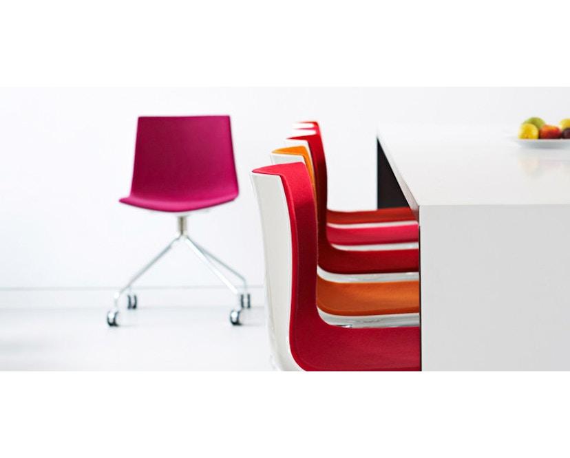 Arper - Catifa 46 chaise 0355 - blanc - 3