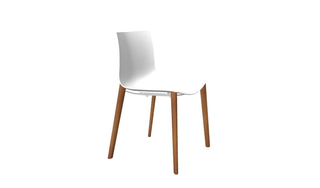 Arper - Catifa 46 chaise 0355 - blanc - 2