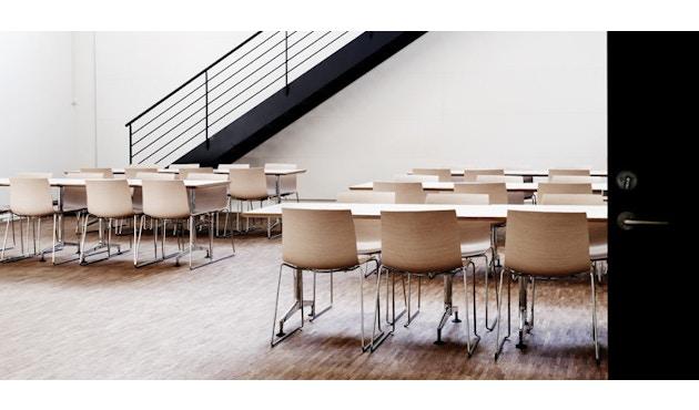 Arper - Catifa 46 Stuhl mit 5-strahligem Drehgestell 0294 - 8