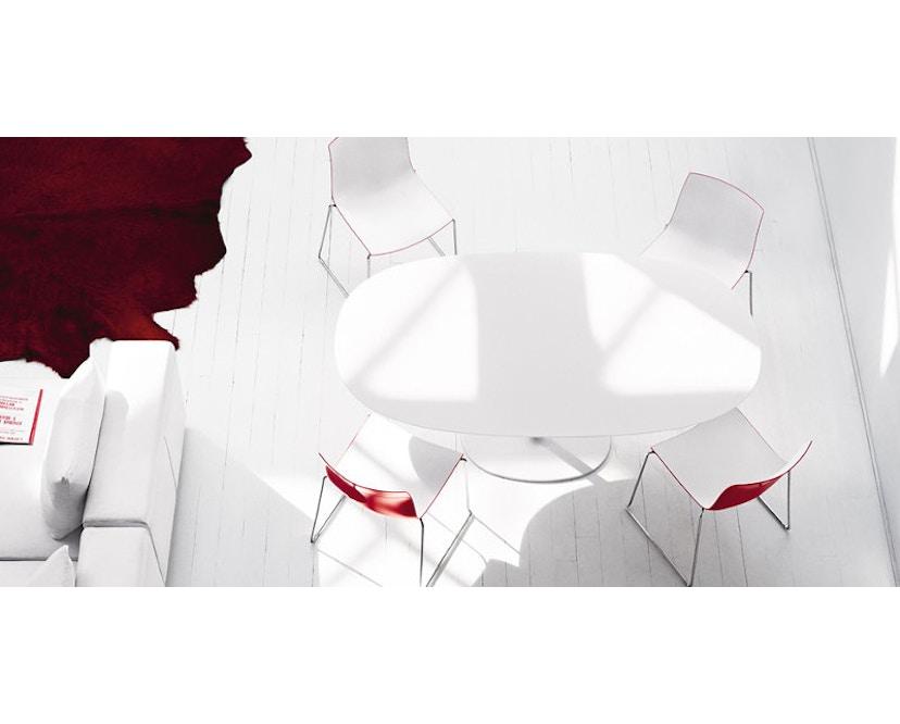 Arper - Catifa 46 Stuhl mit 5-strahligem Drehgestell 0294 - 9